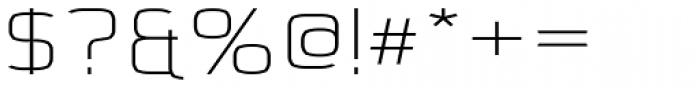 Kompine Expanded SemiBold Font OTHER CHARS