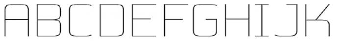 Kompine Expanded Font UPPERCASE