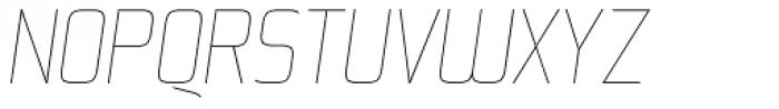 Kompine Italic Font UPPERCASE