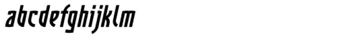 Komunique Bold Italic Font LOWERCASE