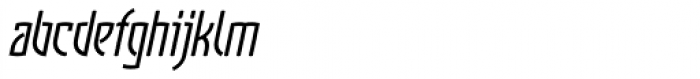 Komunique Italic Font LOWERCASE