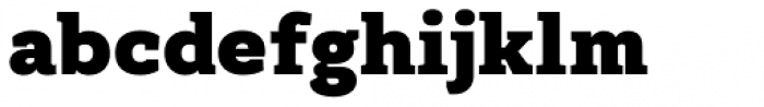 Kondolarge Black Font LOWERCASE