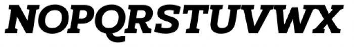 Kondolarge ExtraBold Italic Font UPPERCASE