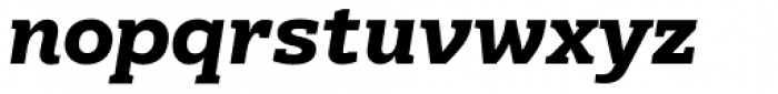 Kondolarge ExtraBold Italic Font LOWERCASE