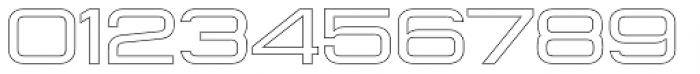 Konexy Light Outline Font OTHER CHARS