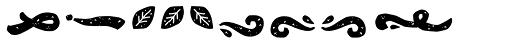 Konga Rock Ornament Font LOWERCASE