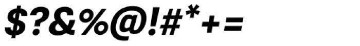 Konkret Grotesk Pro Bold Italic Font OTHER CHARS