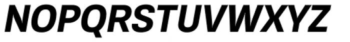 Konkret Grotesk Pro Bold Italic Font UPPERCASE