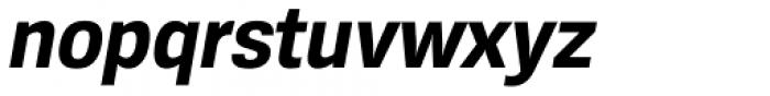 Konkret Grotesk Pro Bold Italic Font LOWERCASE