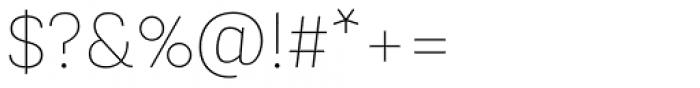 Konkret Grotesk Pro Thin Font OTHER CHARS