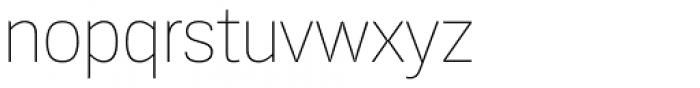 Konkret Grotesk Pro Thin Font LOWERCASE