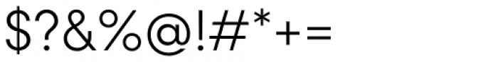 Konnect Light Font OTHER CHARS