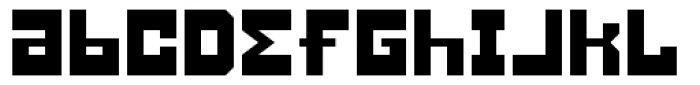 Konstruct Alternate Font LOWERCASE