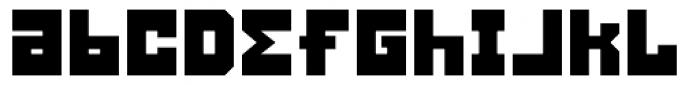 Konstruct Bold Font LOWERCASE