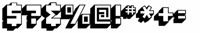 Konstruct Shadow Font OTHER CHARS