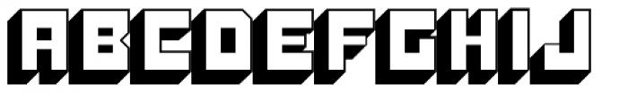 Konstruct Shadow Font UPPERCASE