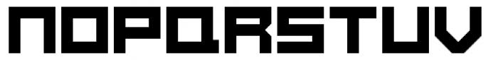 Konstruct Square Font UPPERCASE