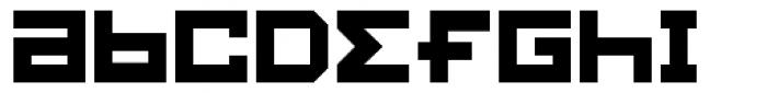 Konstruct Square Font LOWERCASE