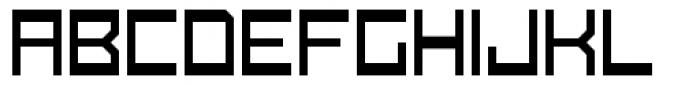 Konstruct Thin Font UPPERCASE