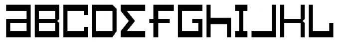 Konstruct Thin Font LOWERCASE