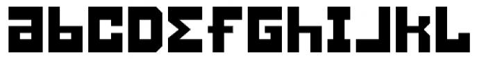 Konstruct Font LOWERCASE