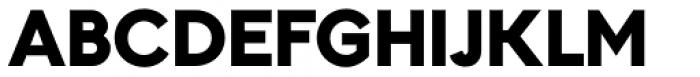Kontora ExtraBlack Font UPPERCASE