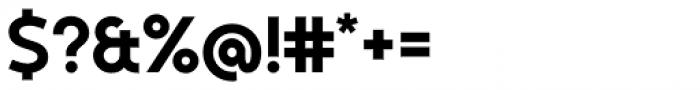 Kontora ExtraBold Font OTHER CHARS