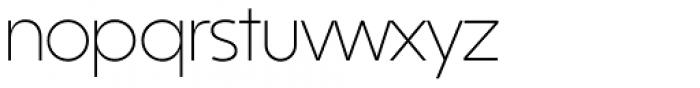 Kontora Light Font LOWERCASE