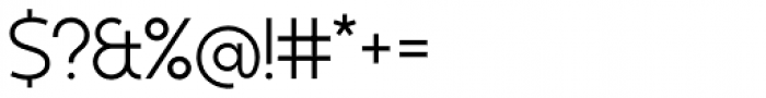 Kontora Regular Font OTHER CHARS