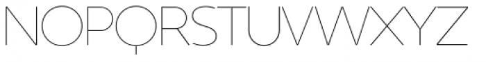 Kontora Thin Font UPPERCASE