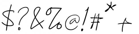 Konya Regular Font OTHER CHARS
