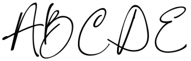 Konya Regular Font UPPERCASE