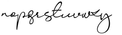 Konya Regular Font LOWERCASE