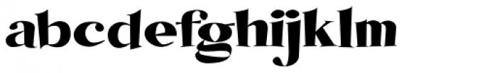 Koobler Font LOWERCASE