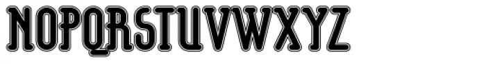 Koomerang Kakadu Font UPPERCASE