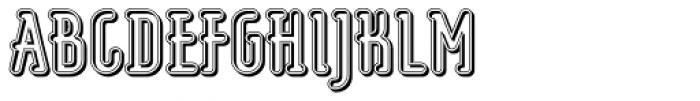 Koomerang Uluru Font UPPERCASE