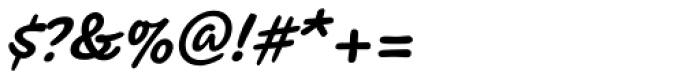 Koorkin Bold Italic Font OTHER CHARS