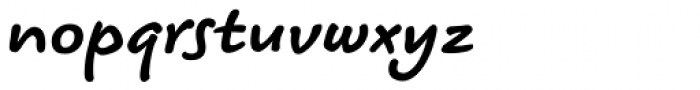 Koorkin Bold Italic Font LOWERCASE