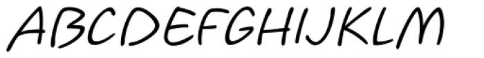 Koorkin Italic Font UPPERCASE
