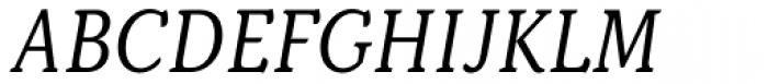 Kopius Book Italic Font UPPERCASE