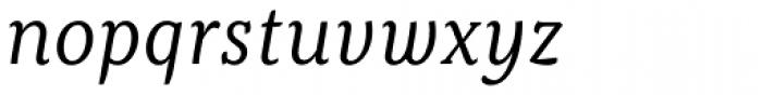 Kopius Book Italic Font LOWERCASE