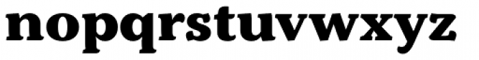 Kopius ExtraBold Font LOWERCASE