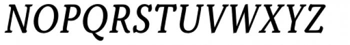 Kopius Italic Font UPPERCASE