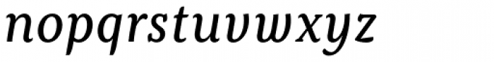Kopius Italic Font LOWERCASE
