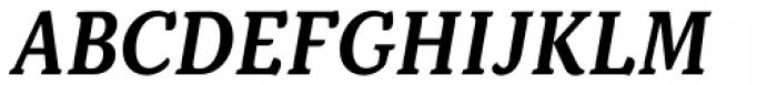 Kopius SemiBold Italic Font UPPERCASE