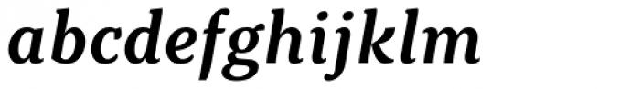 Kopius SemiBold Italic Font LOWERCASE
