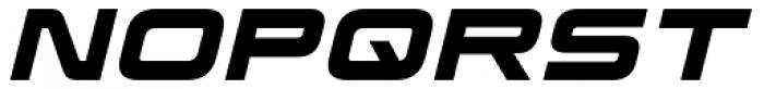 Korataki Bold Italic Font UPPERCASE