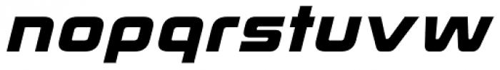 Korataki Bold Italic Font LOWERCASE
