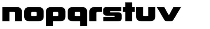 Korataki ExtraBold Font LOWERCASE