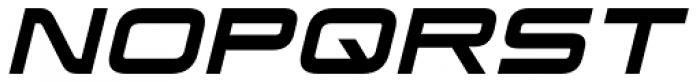 Korataki Italic Font UPPERCASE
